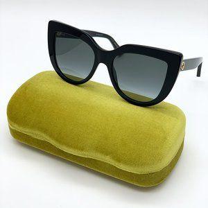 GUCCI GG0164S BLACK/GREY 001 Women Sunglasses